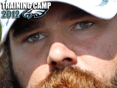 Center Jason Kelce said Garrett Reid was doing a lot of research about strength training. (David Maialetti/Staff Photographer)