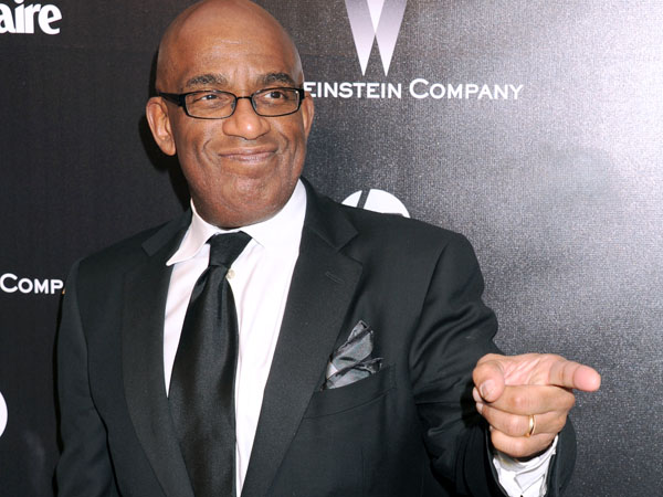 Al Roker arrives at The Weinstein Company 2012 Golden Globe After Party at the Beverly Hilton in Los Angeles. on Sunday, Jan. 15, 2012. (AP Photo/Katy Winn)
