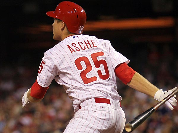Phillies third baseman Cody Asche. (David Maialetti/Staff Photographer)