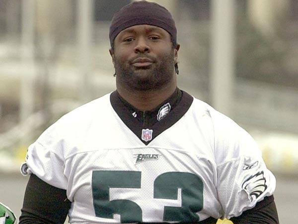 Former Philadelphia Eagles defensive end Hugh Douglas. (Dan Loh/AP file photo)