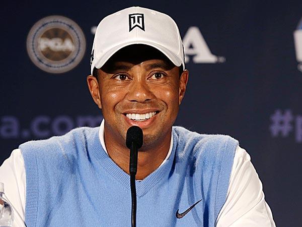 Tiger Woods. (Charlie Neibergall/AP)