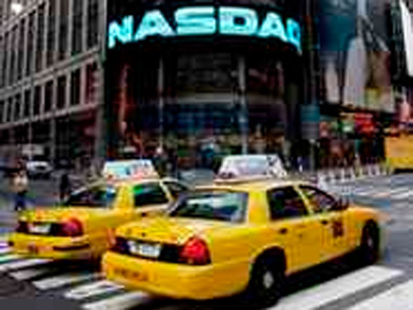 Nasdaq headquarters in New York. (Mark Lennihan / Associated Press)