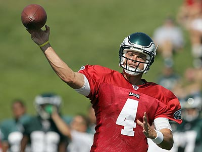 Kevin Kolb will have to prove he can perform under pressure this season. (Yong Kim/Staff Photographer)