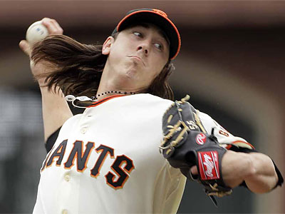 The Phillies willl face righthander Tim Lincecum Monday night in San Francisco. (Eric Risberg/AP)