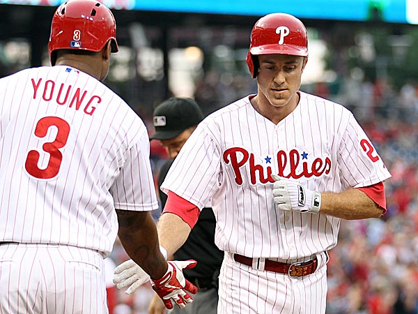Phillies second baseman Chase Utley. (Yong Kim/Staff Photographer)