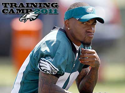 DeSean Jackson held out of Eagles training camp for 11 days. (Yong Kim/Staff Photographer)