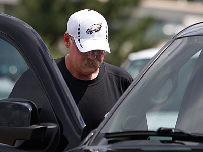 Head coach Andy Reid rejoins the Eagles today following Tuesday´s funeral for his son, Garrett. (David Maialetti/Staff Photographer)