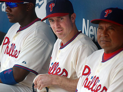 Chase Utley could return to the Phillies lineup this week. (Sarah J. Glover / Staff file photo)