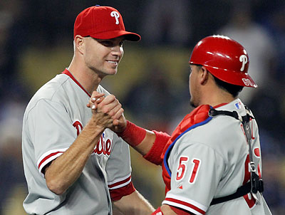 Ryan Madson has evolved from the Phillies´ setup man in 2008 to their closer in 2011. (Alex Gallardo/AP)