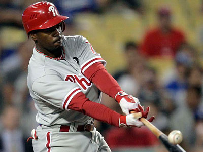 "According to Jimmy Rollins´ Twitter account, he has a ""mild grade 2 strain."" (Jae C. Hong/AP Photo)"