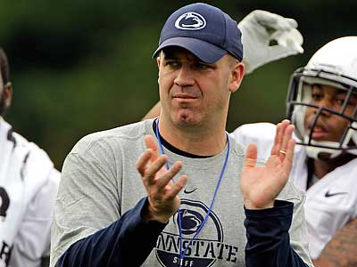 Penn State head coach Bill O´Brien announced the depth chart for 2012 Nittany Lions. (Gene J. Puskar/AP)