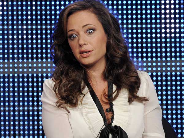 Leah Remini participates in a panel discussion at the CBS, Showtime and The CW Television Critics Association summer press tour in Beverly Hills, Calif., Wednesday, July 28, 2010. (AP Photo/Chris Pizzello)