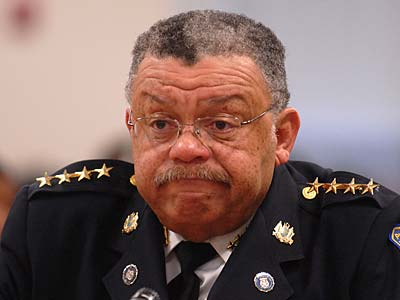 Police Commissioner Charles H. Ramsey says he will make every effort to weed out problem officers. (Tom Gralish / Staff Photographer)