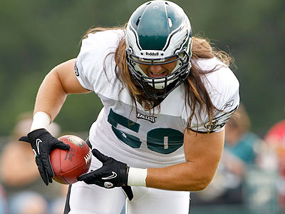 Casey Matthews has a lot to prove this preseason. (Yong Kim/Staff Photographer)
