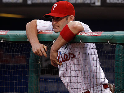 The Phillies liked having Brian Schneider as a backup catcher because of his defensive abilities. (Matt Slocum/AP file photo)