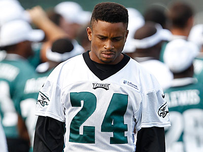 Cornerback Nnamdi Asomugha will be used differently depending the opposing offense. (David Maialetti/Staff Photographer)