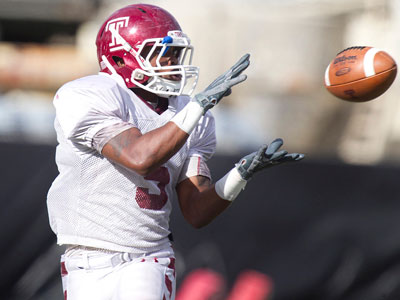 Temple slot receiver Jalen Fitzpatrick has the ability to make plays in space. (File photo)