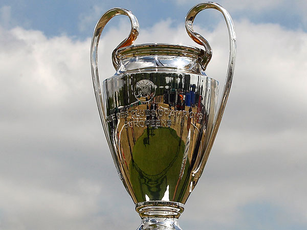 The UEFA Champions League trophy. (Kirsty Wigglesworth/AP file photo)