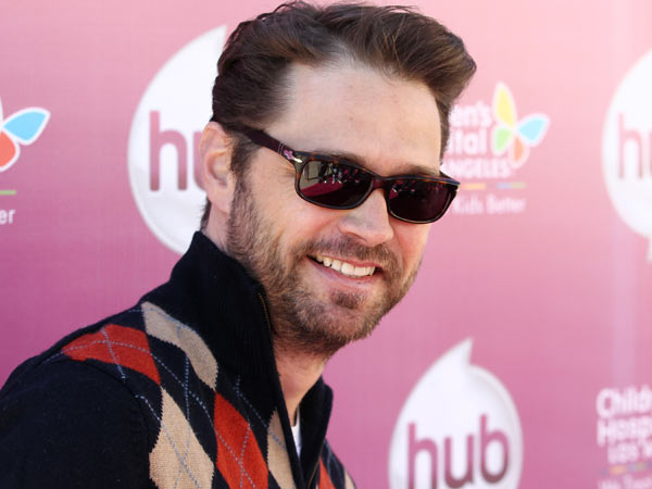 "Jason Priestley attends The Hub TV Network´s ""My Little Pony Friendship is Magic"" Coronation Concert at the Brentwood Theatre on Saturday, Feb. 9, 2013, in Los Angeles in support of Children´s Hospital LA. (Photo by Matt Sayles/Invision for The Hub/AP Images)"