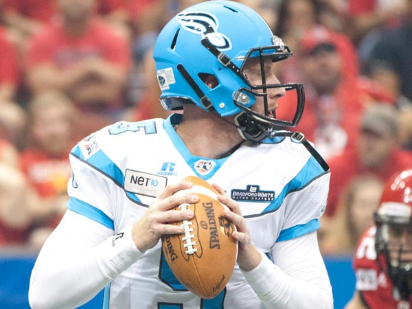 Quarterback Dan Raudabaugh leads the Soul into the ArenaBowl on Saturday.  Photo by Joshua Phillips