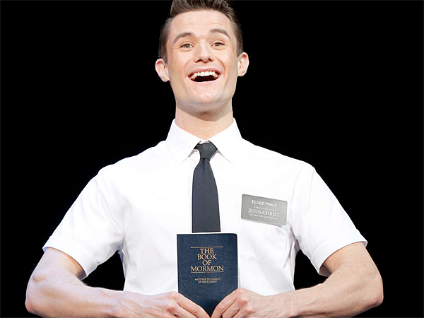 """""""The Book of Mormon"""" is at the Forrest Theatre to Sept. 14."""