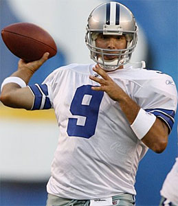 Can Tony Romo lead the Cowboys to their first playoff win in 12 years? (AP)
