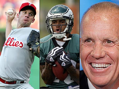 Roy Oswalt, DeSean Jackson and Doug Collins are all frequent topics of discussion in the busy Philadelphia sports scene.