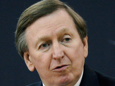 Former New Jersey Nets President Rod Thorn has been named the Sixers´ president. (AP Photo/Bill Kostroun)