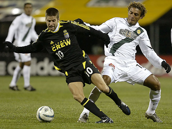 Kyle Martino during his playing days with the Columbus Crew. (/Jay LaPrete/AP file photo)