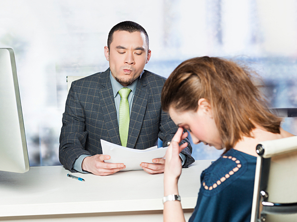 Tips for answering bad interview questions. (iStock)