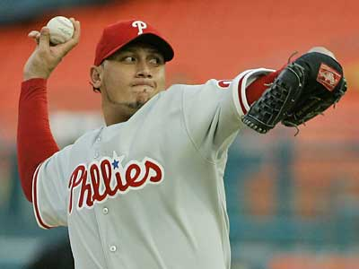 Fans can forget about seeing Freddy Garcia in a Phillies uniform again, but Kris Benson still might be able to help. (Wilfredo Lee/Associated Press)<br /><br />