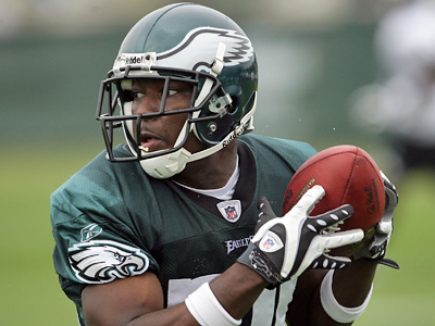 The Eagles will get their first look at rookie running back LeSean McCoy in game action tomorrow night.  (Yong Kim / Staff Photographer)