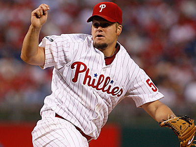Joe Blanton earned his fifth win of the season Wednesday night against the Giants. (Ron Cortes/Staff Photographer)