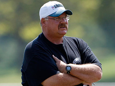 Head coach Andy Reid and the Eagles return to Lehigh Saturday for camp. (Yong Kim/Staff Photographer)