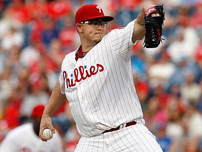 Phillies pitcher Vance Worley. (H. Rumph Jr/AP)