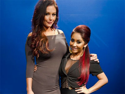 Snooki and JWoww star on their very own spinoff series. (AP Photo)