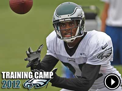 Nnamdi Asomugha left practice Monday but was not suffering from concussion symptoms. (Michael Bryant/Staff Photographer)