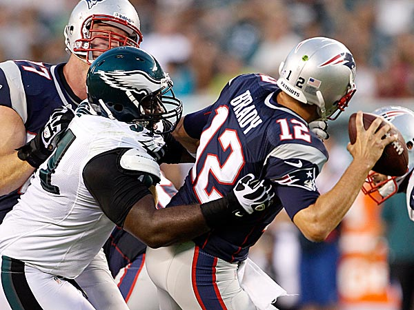 Eagles defensive lineman Fletcher Cox. (Ron Cortes/Staff Photographer)