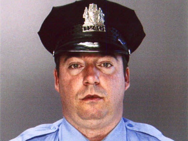 Officer Edward Davies, a six-year veteran of the Philadelphia Police Department.