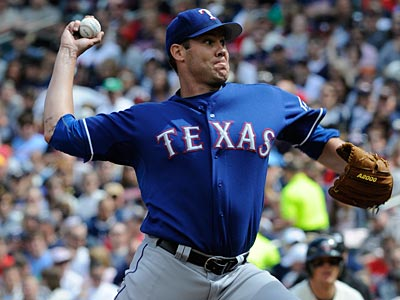 Dave Bush most recently pitched in the majors with the Rangers as well as the Brewers and Blue Jays. (Jim Mone/AP)