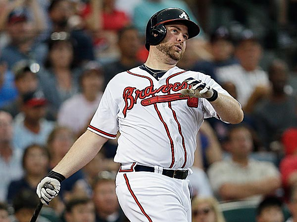 Braves catcher Brian McCann. (John Bazemore/AP)
