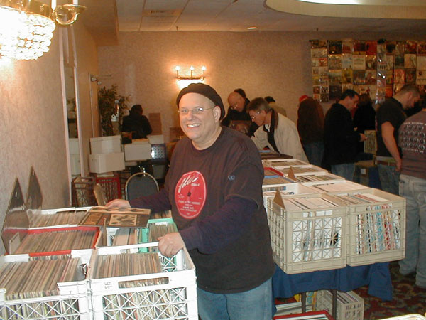 Photo taken at December 9, 2007 record show in Springfield, N.J.