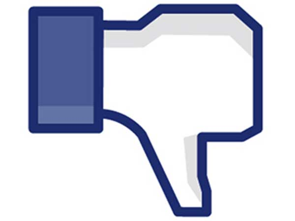 facebook gives thumbs down to the thumbs up like sign