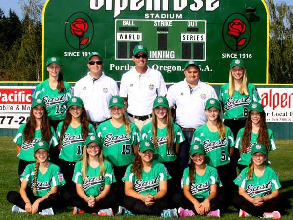 The Robbinsville team won the 2014 Little League Softball World Series. (Photo courtesy of softballworldseries.com)