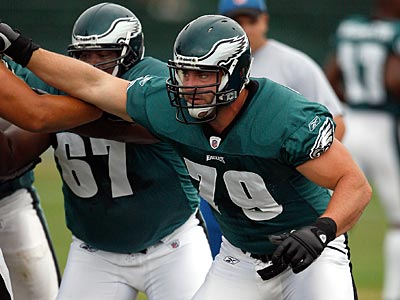 Todd Herremans (79) will play in Friday´s preseason game against Kansas City. (David Maialetti / Staff Photographer)