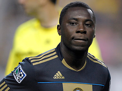 Freddy Adu will have to contribute in order for the Union to advance. (Michael Perez/AP)