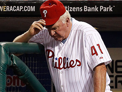 Even in the best of times, Charlie Manuel has received constant criticism from some Phillies fans. (David Maialetti/Staff file photo)