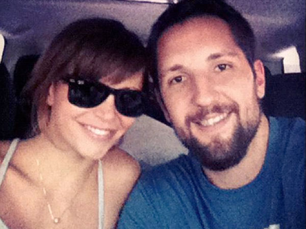 Gia Allemand and her boyfriend, Ryan Anderson. (Instagram)