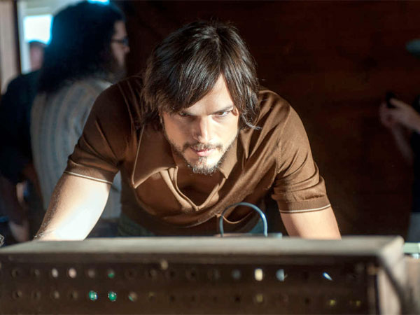 Ashton Kutcher portrays Steve Jobs in the biopic about the co-founder of Apple. GLEN WILSON / Open Road Films