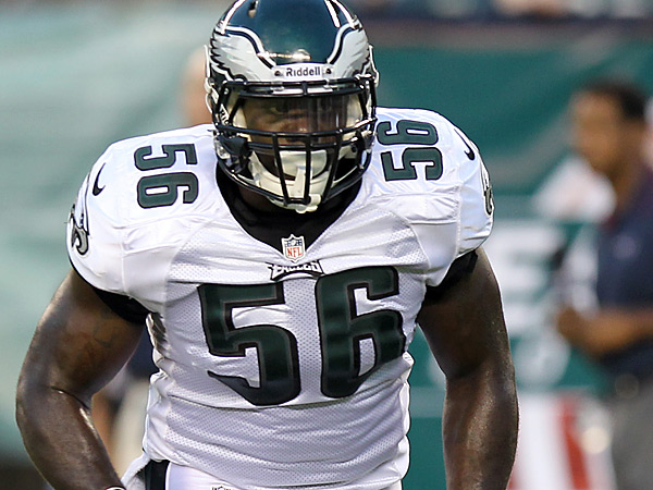 Eagles linebacker Phillip Hunt was a defensive end in his first two seasons. (Yong Kim/Staff Photographer)